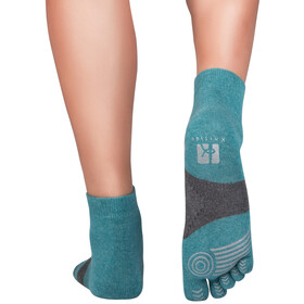 Knitido Marathon TS Running Socks smoky green/grey